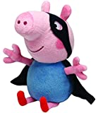 TY UK 6-inch George Peppa Pig Superhero Beanie