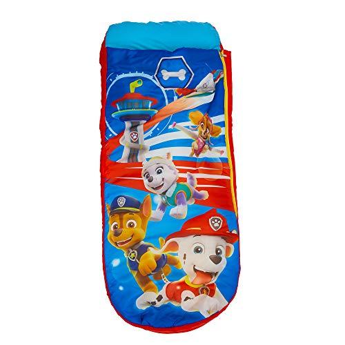 Paw Patrol Junior-ReadyBed - Kinder-Schlafsack und Luftbett in einem, Polyester, Einzel