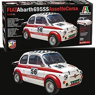 Italeri 4705 Fiat Arbath 695 SS/Assetto Corsa 1:24 Car Model Kit