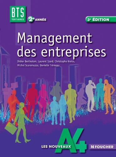 Les Nouveaux A4 Management des entreprises 2e année BTS