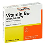 Vitamin B12 ratiopharm N Ampullen 5X1 ml