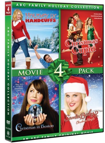ABC Family Holiday Collection Movie 4 Pack (Christmas Cupid, Christmas In Boston, Holiday In Handcuffs, Santa Baby 2) by Various (Santa Baby 2)