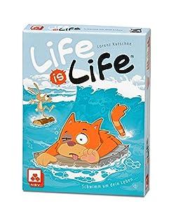 Nürnberger Spielkarten Tarjetas 08819908034-Juego de Cartas Life is Life-Natación para tu Vida