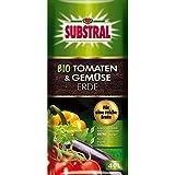 Substral® bio de tomates y verduras Tierra, 40L)
