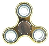 Christmas Concepts® - Exclusive Fidget Hand Spinner - Stress Reducer, Stress Relief, Autism - METALLIC GOLD