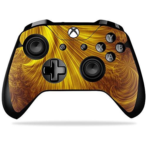 mightyskins Haut für Microsoft Xbox One X schützend, Langlebig, und Einzigartige Viny Golden Locks Xbox One X Controller -