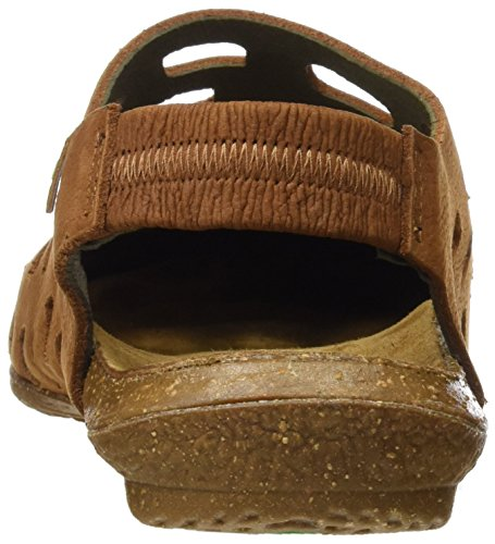 El Naturalista N5060 Pleasant Wakataua, Sandali Closed-Toe Donna Marrone (Wood)