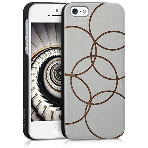 kalibri-Schutzhlle-aus-Holz-mit-Laser-Gravur-fr-Apple-iPhone-SE-5-5S-Premium-Case-Cover-mit-Kunststoff-im-Bubbles-Design