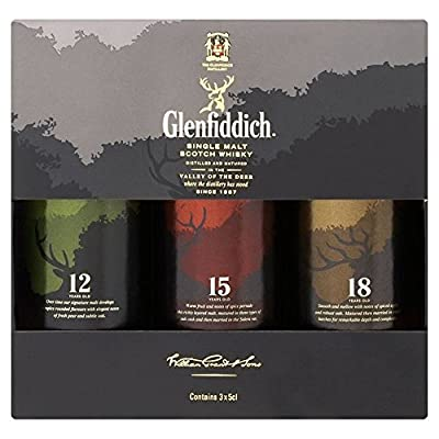 Glenfiddich The Family Collection 3 x 5cl - (Pack of 2)