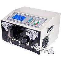 hanchen instrumento ew-03C 0,1–10mm² ordenador automático máquina para pelar cables herramienta de pelado de cable cortador de cable pelar/pelacables de corte para alambre de PVC/teflón/trenzado/fibra de vidrio 50–133Pcs/min (220V)