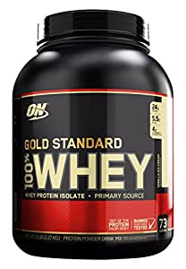 Optimum Nutrition Whey Gold Standard Protein, Vanille Ice Cream, 2,3 kg