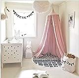 Baldacchino da letto per bambini, (altezza 240 cm, circonferenza superiore 152 cm, circonferenza inferiore 265 cm)