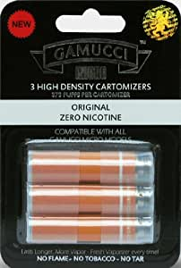Gamucci Cartomizer Refills–Original 0% Nikotin (Nikotinfrei)–3Packungen von Trendz