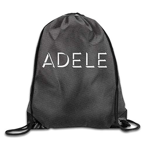 HLKPE Adele Live 2016 Adele Logo Wordart Drawstring Backpack Sports Bag for Men and Women
