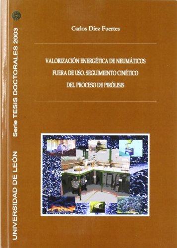 Valoración energética de neumáticos fuera de uso. Seguimiento cinético del proceso de pirólisis (Tesis doctorales 2003)