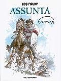 BOS MAURY - ASSUNTA , Kult Hardcover mit Schutzumschlag, limitiert mit signierter Lithographie 73/500 im Schuber (Hermann Hupen - Comic)