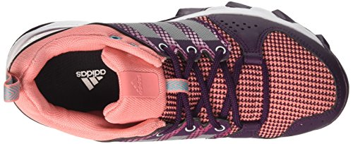 adidas Galaxy Trail W, Chaussures de Running Femme, Core Black/Icey Blue/Icey Blue Multicolore (Red Night/footwear White/energy Blue)