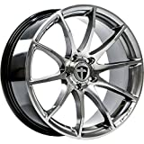 Tomason TN1 8,5x18 LK 5x100 Hyperblack polished VW,Audi,Seat,Skoda,Chrysler