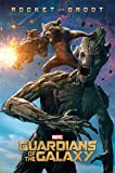 Poster Guardians Of The Galaxy - Rocket & Groot - preiswertes Plakat, XXL Wandposter
