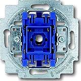 Busch-Jaeger 2000/6US Schalterserien Wechselschalter, Blau, Metallisch