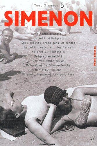 Tout Simenon, tome 5 par Georges Simenon