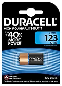 Duracell Ultra 123 Camera battery - CR123 6 pack