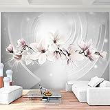 Fototapete Blumen Magnolien Vlies Wand Tapete Wohnzimmer Schlafzimmer Büro Flur Dekoration Wandbilder XXL Moderne Wanddeko - 100% MADE IN GERMANY - Runa Tapeten 9235010a