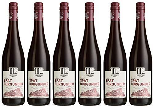 1112  Spätburgunder Trocken – Rotwein der Marke Elfhundertzwölf 2016 (6 x 0,75l)