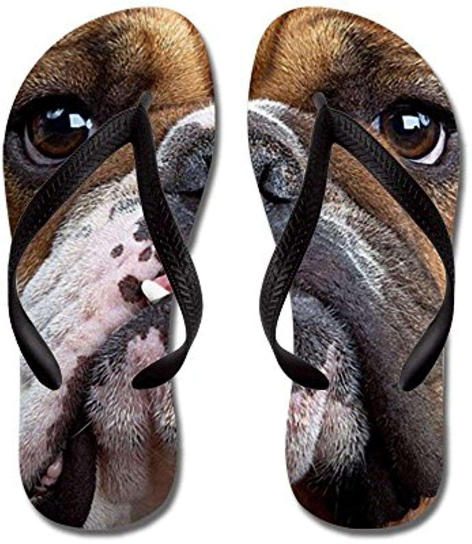 8d6af0117aad diyccy bulldog anglais tongs, tongs, tongs, drôle de string des sandales,  des sandales de plage l (43 44) b07f2yv8t6 parent | De Qualité Constante  1f6405