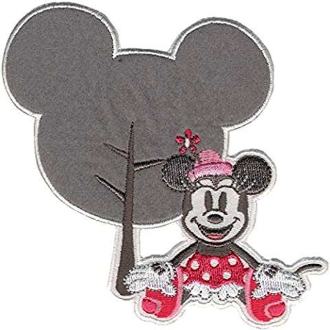 Disney Mickey Mouse Iron-On Applique-Minnie