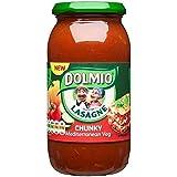 Dolmio Lasaña Mediterannean Grueso Salsa De Verduras 500g (Paquete de 6)