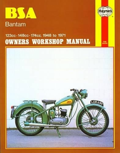 BSA Bantam Owners Workshop Manual: 123cc 148cc 174cc 1948-1971