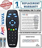 #9: Tata Sky 100% Original Universal Remote (Directly From The Manufacturer) With 1 Year Warranty (Also Works with all TV) Check Images Before Purchase
