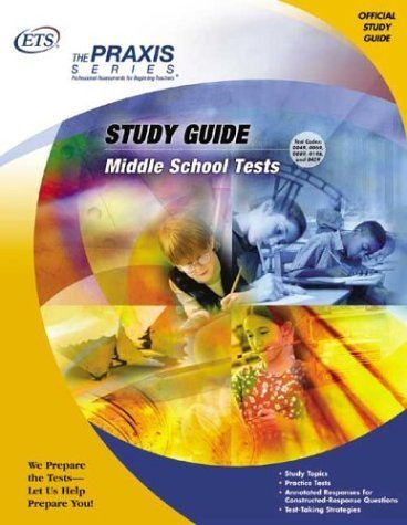 Middle School Tests (Praxis Series) by Educational Testing Service (2004-07-01) ()