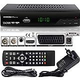 Echosat 2910 S DVB-T/T2 Ricevitore Digitale - ✓ Full HD [1920 x 1080] ✓ HDMI ✓ MPEG-4 ✓ AVC ✓ MPEG-2 MP ✓ 1080i ✓ 1080P Standart ✓ Scart ✓ Facile installazione { HEVC - H.264 H.265 } - TNT Terrestre