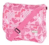 Hi-Tec Hearts Design Lady courier Bag.