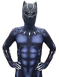 black panther costume bambino  : black panther: Abbigliamento