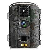 Artitan Wildlife und Jagd Kamera 12MP 720P Infrarot Hunting Trail Camera 65ft Erfassungsbereich No Glow 940nm IR Lights mit 2,4in LCD Bildschirm wasserdicht IP65 mit 8GB SD Karte