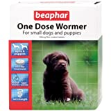 Beaphar One Dose Wormer for Puppies 6 Tablets (Pack of 2, Total 12 Tablets)