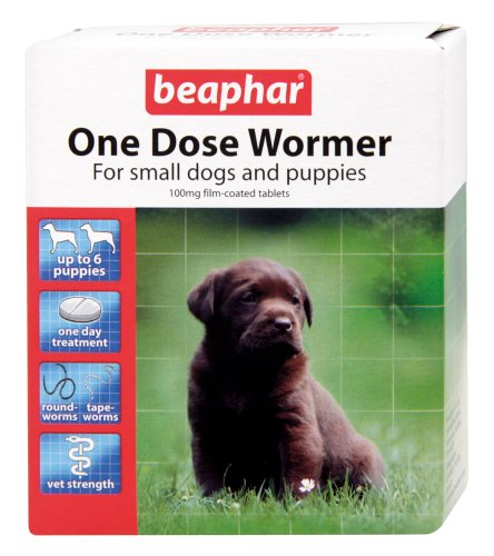 BEAPHAR ONE DOSE WORMER FOR PUPPIES 6 TABLETS 1