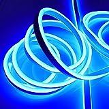 Neon Lichtschlauch, Länge 9 m, 1080 LED blau, IP44 für außen von...