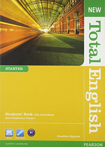 New Total English Starter Students' Book With Active Book Pack