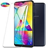 KuGi. für Samsung Galaxy M20 Panzerglas, Samsung Galaxy M20 Schutzfolie 9H Hartglas HD Glas Blasenfrei Displayschutzfolie passt für Samsung Galaxy M20 Smartphone. Klar [2 Pack]