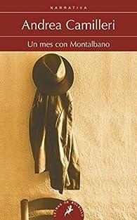 Un mes con Moltalbano par Andrea Camilleri