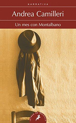 Portada del libro Un mes con Moltalbano: Montalbano - Libro 5 (Letras de Bolsillo)