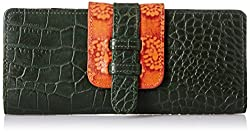Holii Womens Wallet (Green Saffron)