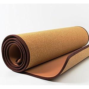 SLIMLINE 5mm Kork Yoga- Matte Natur | 185cm x 61 cm ~vds