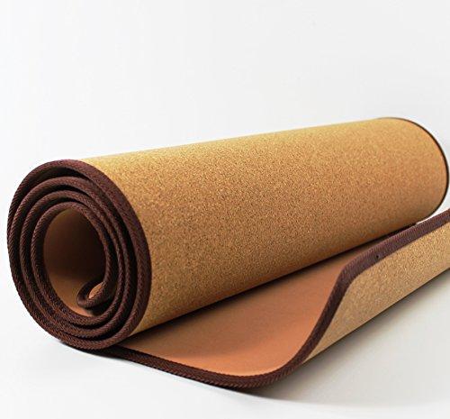 SlimLine 5 mm Kork Yoga-Matte Natur | 185 cm x 61 cm