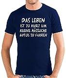 Touchlines Herren Das Leben ist zu kurz. T-Shirt SF117 navy L