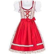 Gaudi-Leathers Dirndl Millie traje tradicional de tirolesa vestido moda alemana de Oktoberfest carnevale para